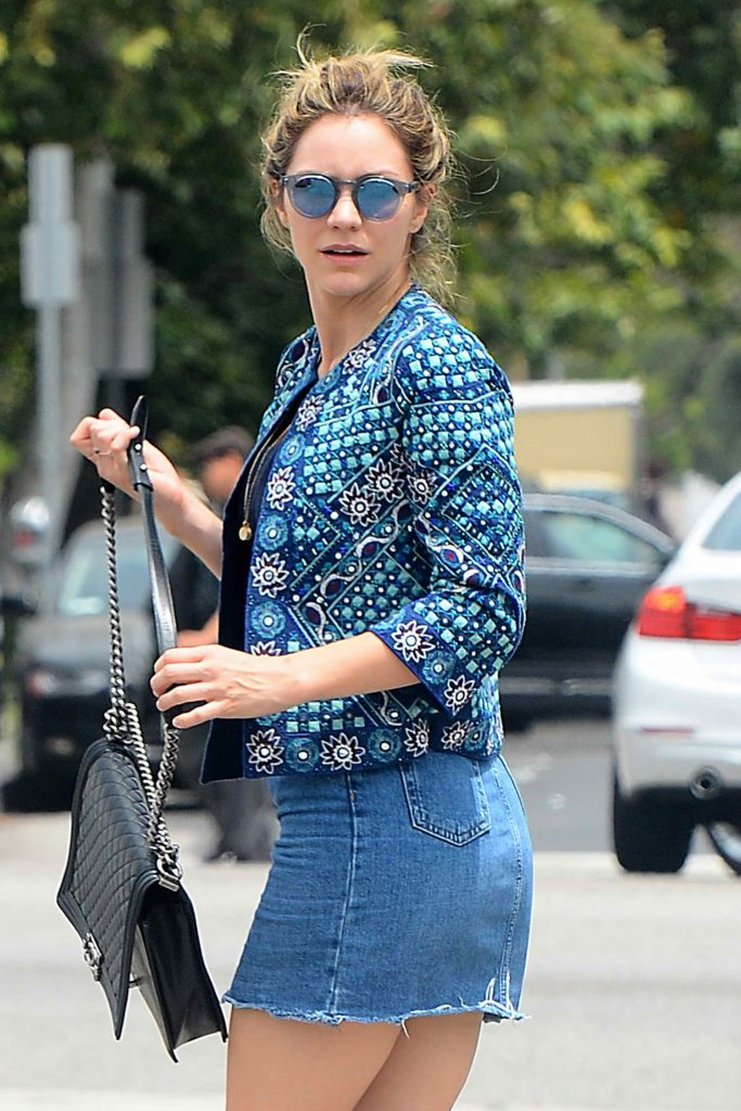 Katharine McPhee Was Seen Out in West Hollywood-1