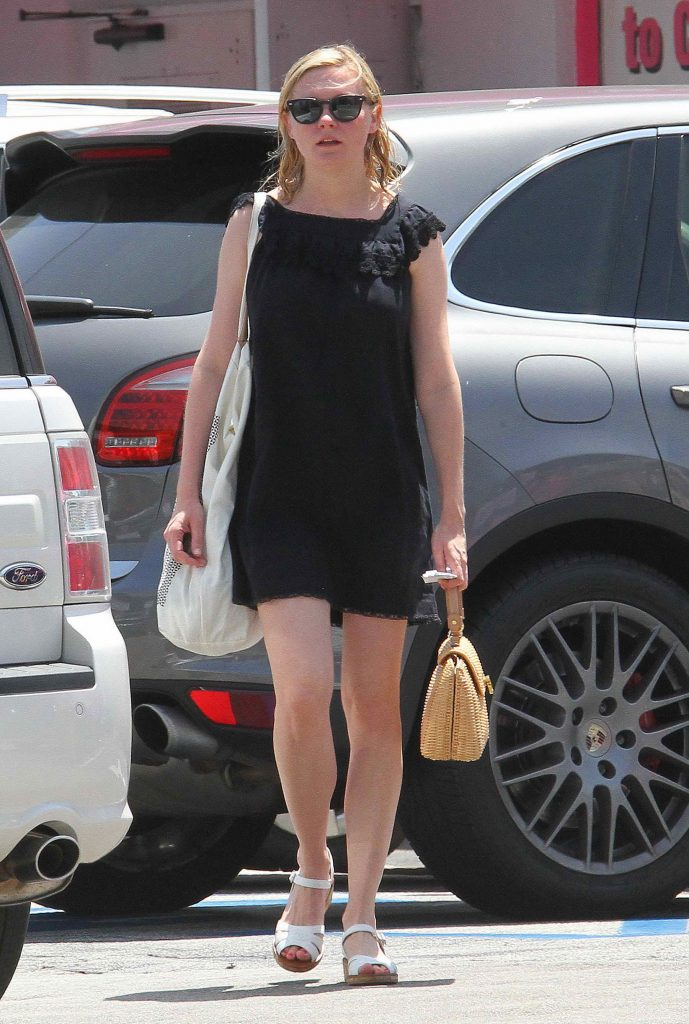 Kirsten Dunst Out in Los Angeles-1