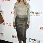 Laverne Cox at Orange is the New Black Season 4 Premiere in New York City