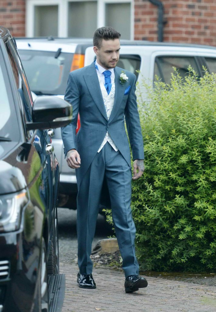 Liam Payne Attends a Wedding-1