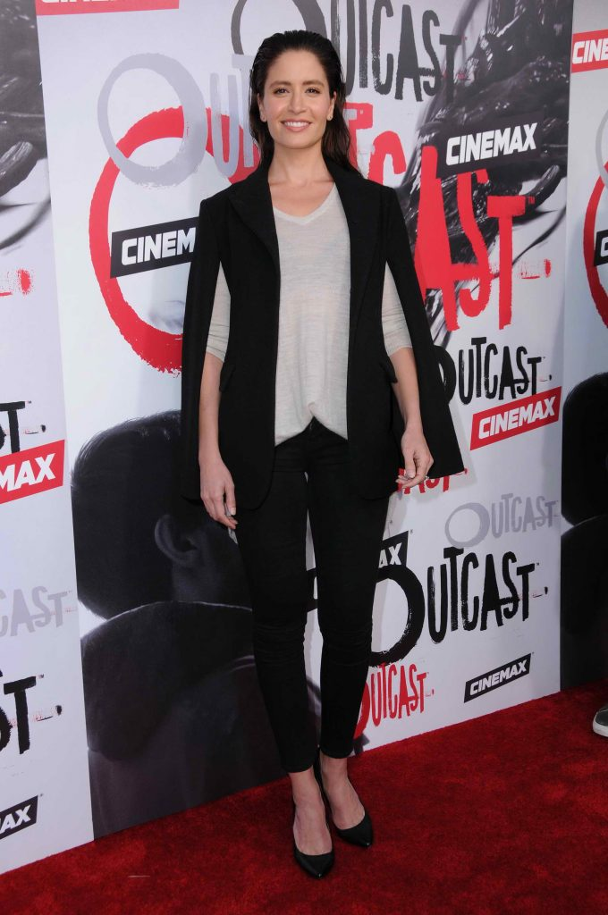 Mercedes Masohn at Outcast Premiere at Hollywood Forever in Los Angeles-1
