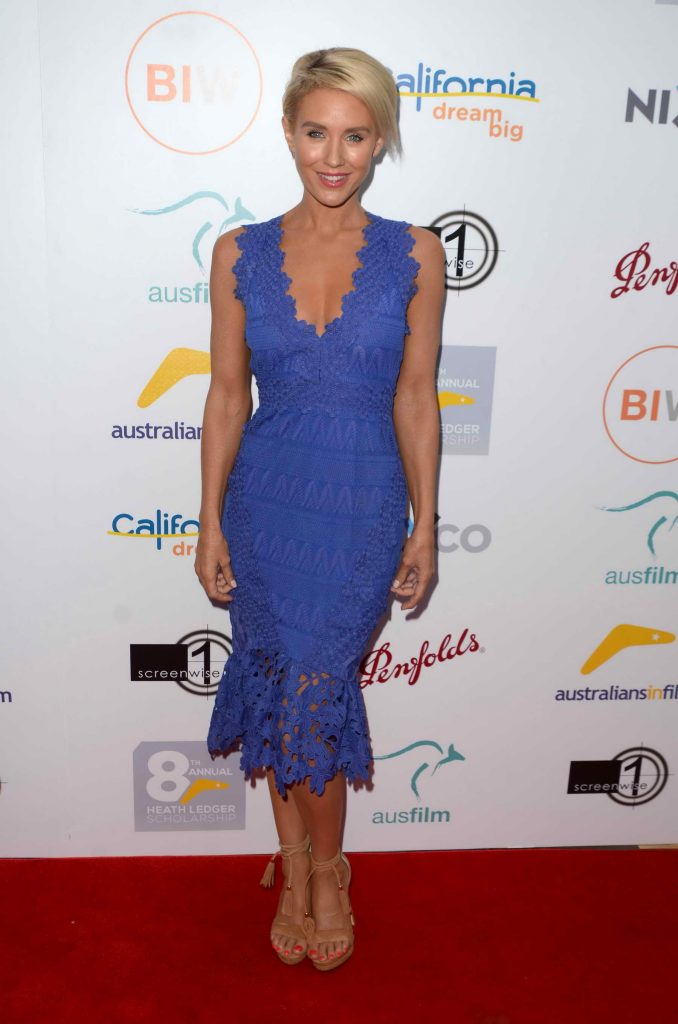 Nicky Whelan at the Heath Ledger Scholarship Dinner in Beverly Hills-1