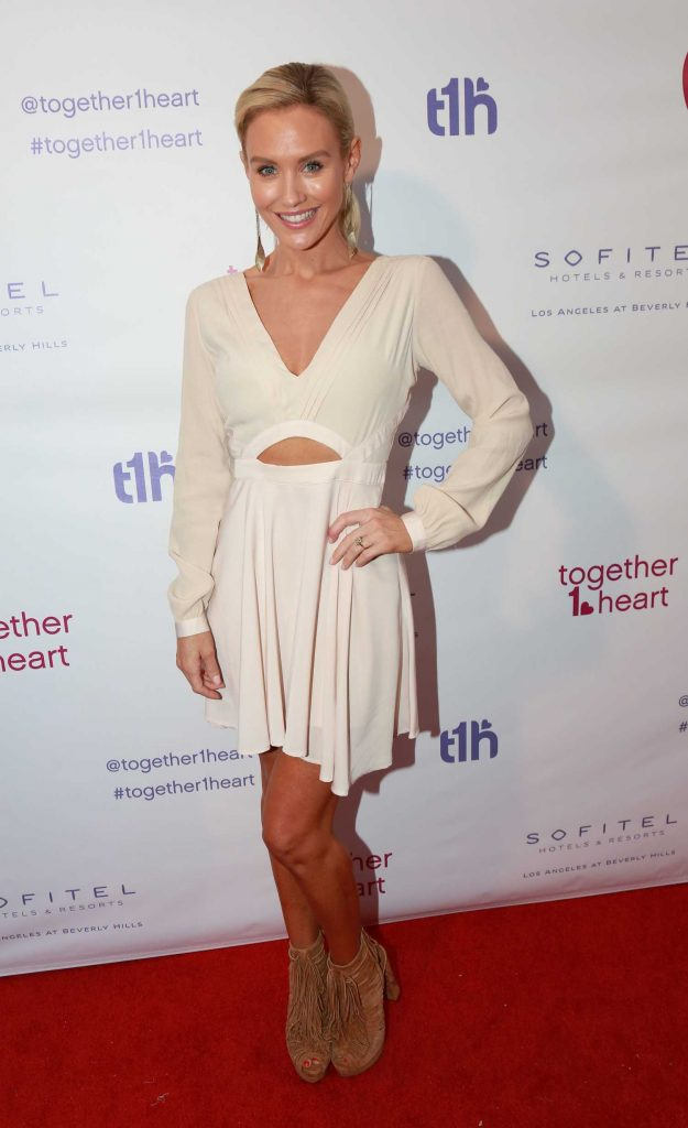 Nicky Whelan at the Together1Heart Launch at Sofitel Hotel in Beverly Hills-1