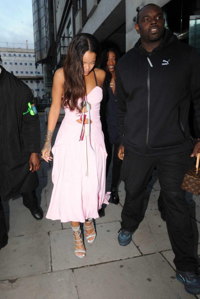 Rihanna Leaves the Tape Nightclub in London-2