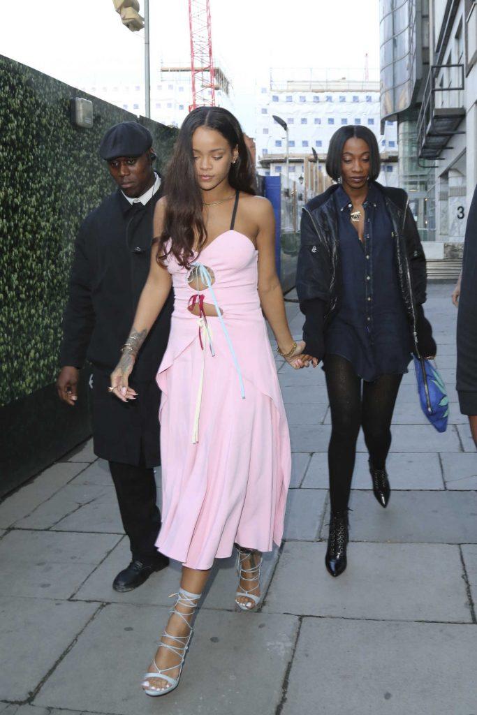 Rihanna Leaves the Tape Nightclub in London-3