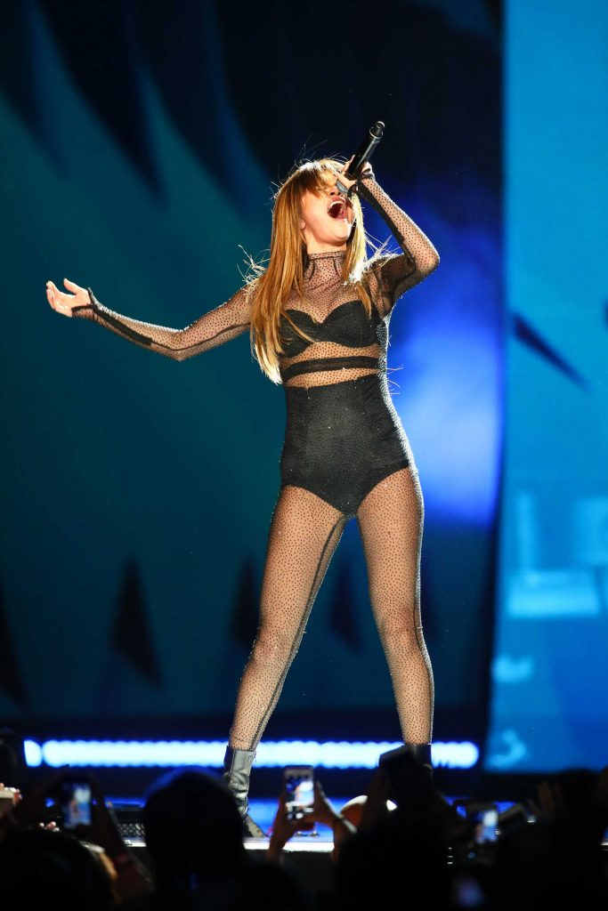 Selena Gomez Performs During Her Revival Tour at The Xcel Energy Center in  St Paul-1