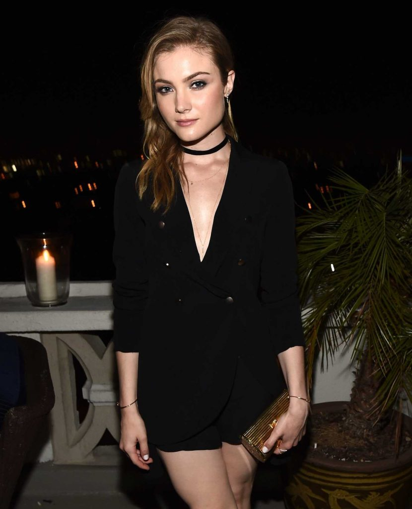 Skyler Samuels at GQ Celebrates The 10th Annual Love Sex and Madness Issue in Los Angeles-1