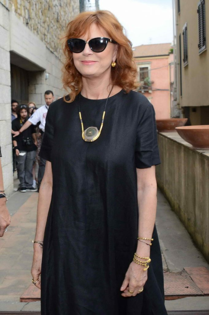 Susan Sarandon Attends the 62nd Taormina Film Festival-1