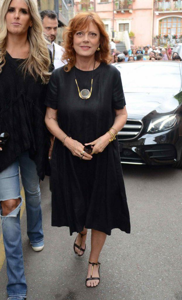 Susan Sarandon Attends the 62nd Taormina Film Festival-2