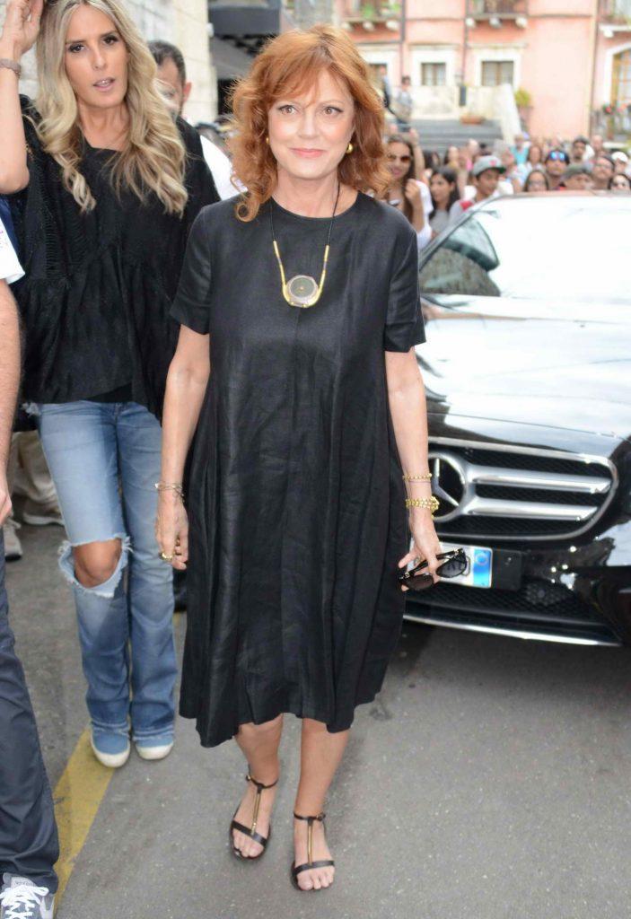Susan Sarandon Attends the 62nd Taormina Film Festival-3