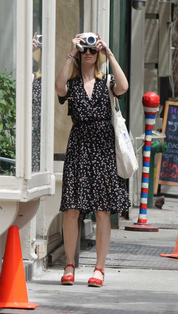 Beth Behrs Was Seen Out in New York City-1