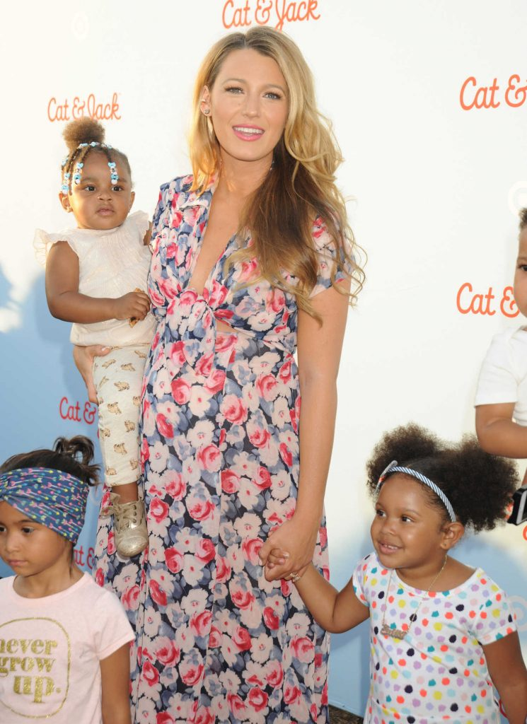 Blake Lively at the Target Cat and Jack Launch Celebration in New York City-5