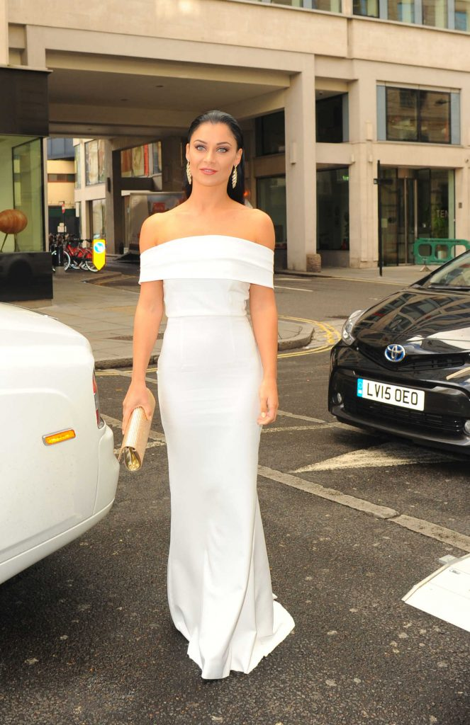 Casey Batchelor at The White Party Cocktail Gala in London-1