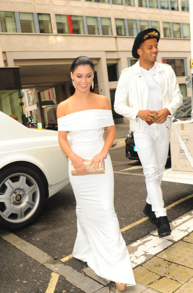 Casey Batchelor at The White Party Cocktail Gala in London-2
