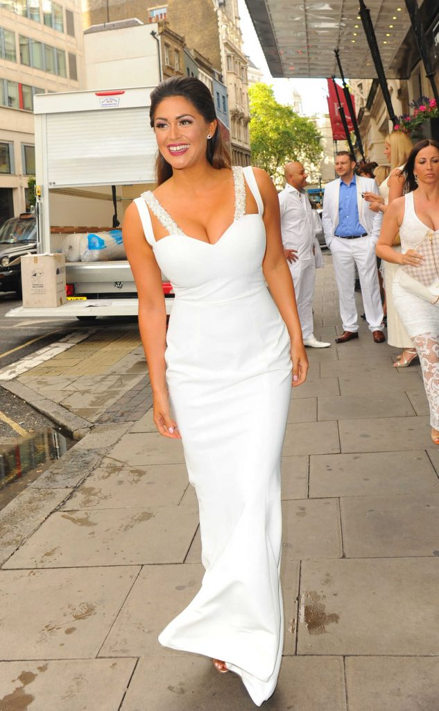 Casey Batchelor at The White Party Cocktail Gala in London-4