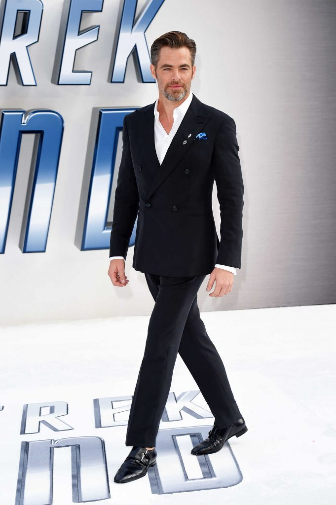Chris Pine at the Star Trek: Beyond Premiere in London-2