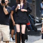 Coco Rocha Does a Photo Shoot in New York City