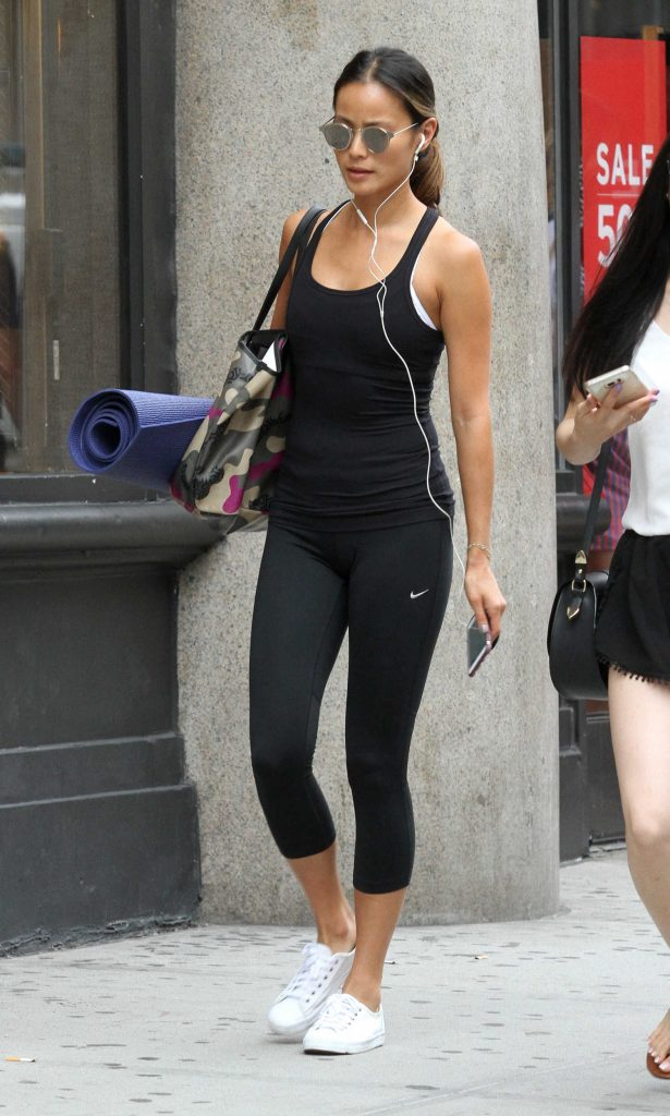 Jamie Chung Leaves Yoga Class in New York City-2