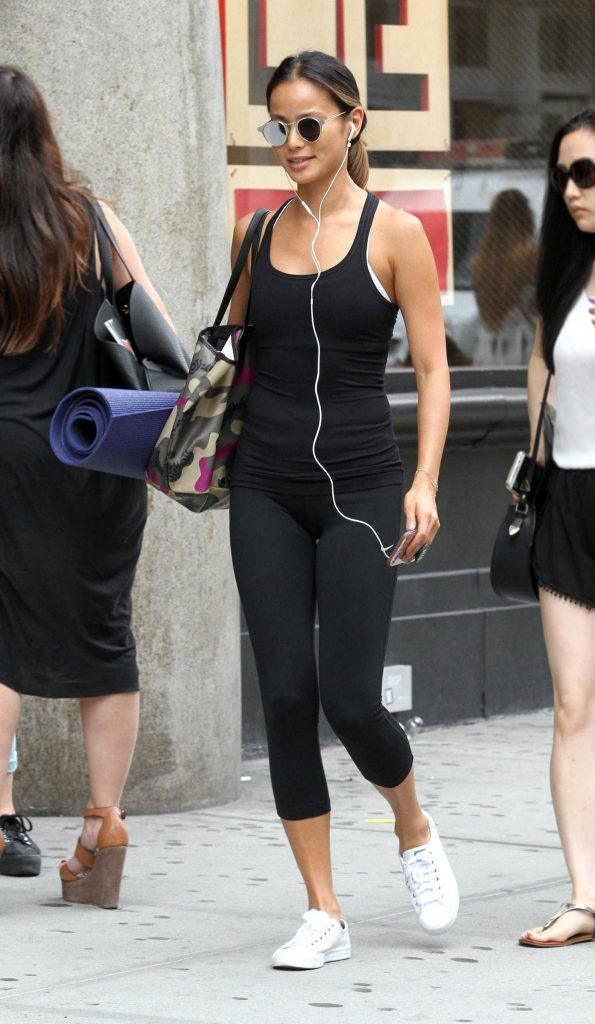 Jamie Chung Leaves Yoga Class in New York City-3
