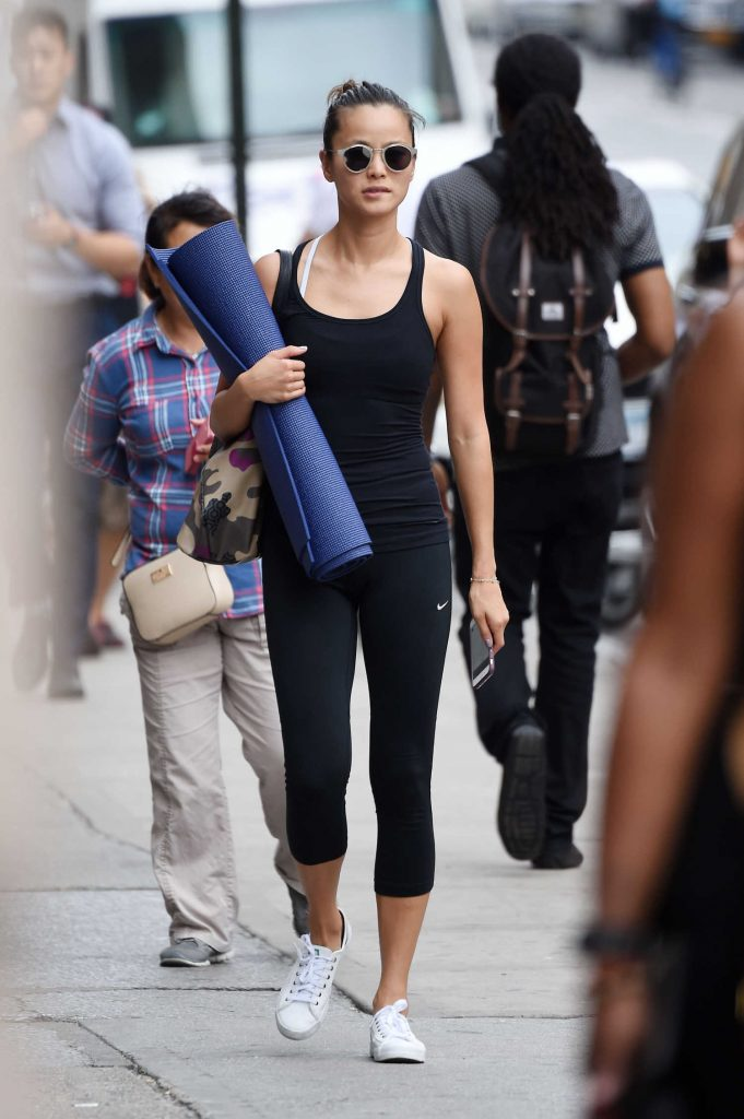 Jamie Chung Leaves Yoga Class in New York City-4