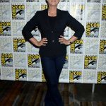 Jamie Lee Curtis at the Scream Queens Press Line at Comic-Con International in San Diego
