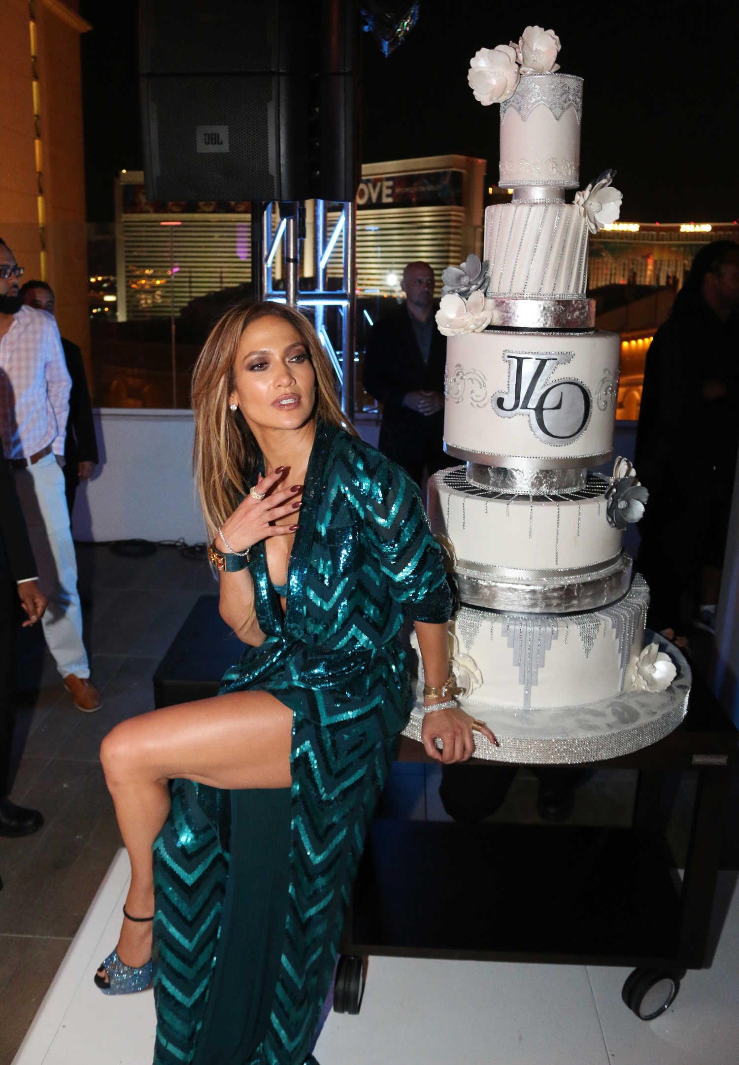Jennifer Lopez At Jennifer Lopez S Private 47th Birthday