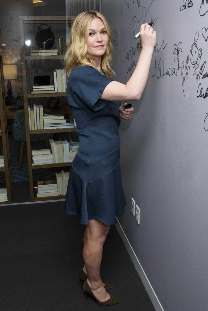 Julia Stiles at AOL Build Speaker Series in New York City-2