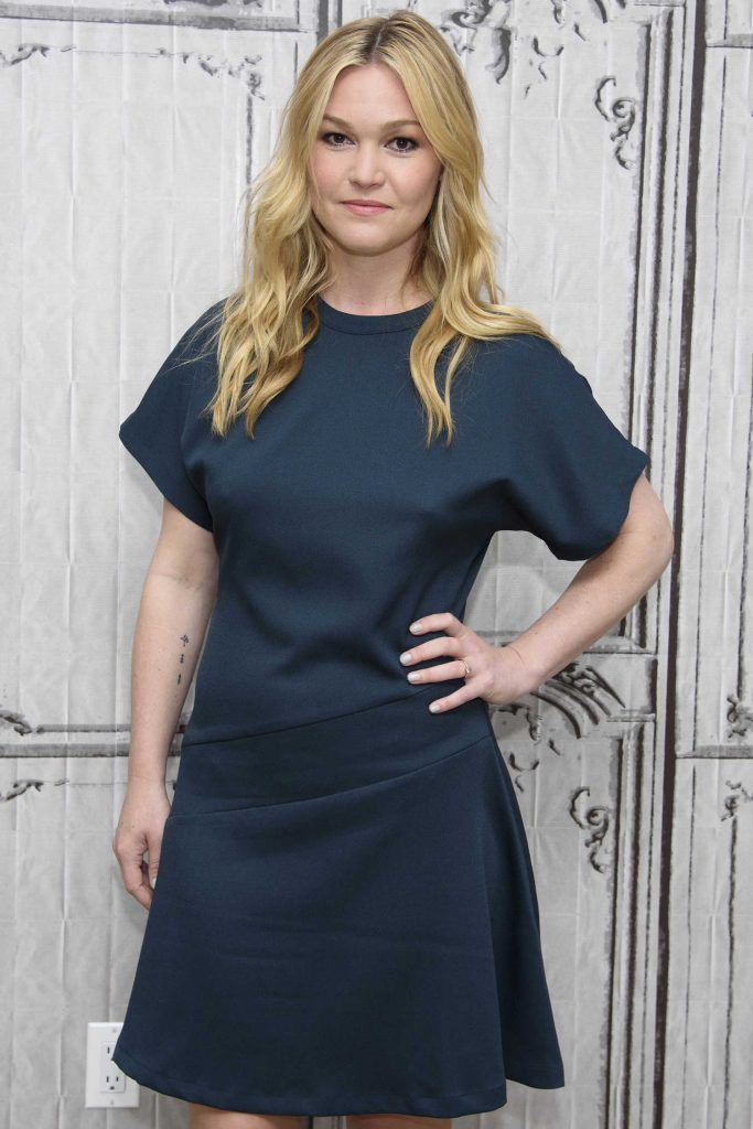 Julia Stiles at AOL Build Speaker Series in New York City-3