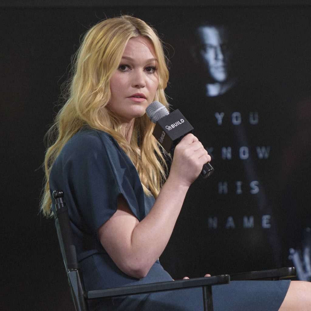 Julia Stiles at AOL Build Speaker Series in New York City-5