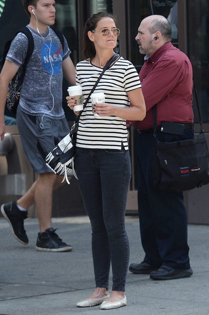 Katie Holmes Was Seen Out in Manhattan-1