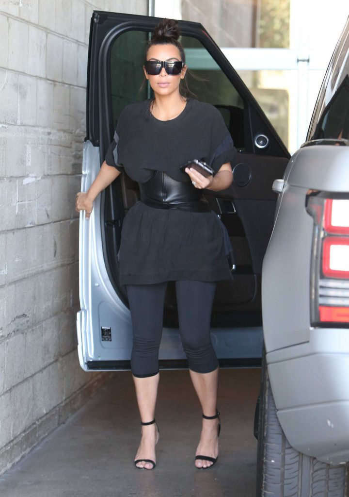 Kim Kardashian Was Spotted at a Milk Studios in Hollywood-1