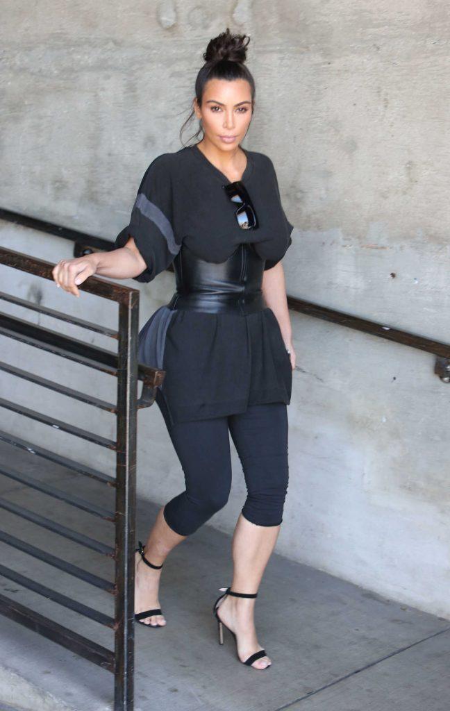 Kim Kardashian Was Spotted at a Milk Studios in Hollywood-5