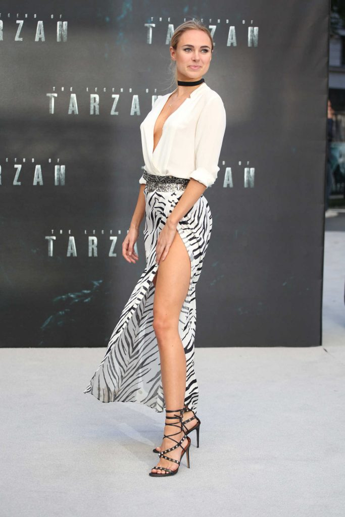 Kimberley Garner at The Legend Of Tarzan European Premiere in London-2