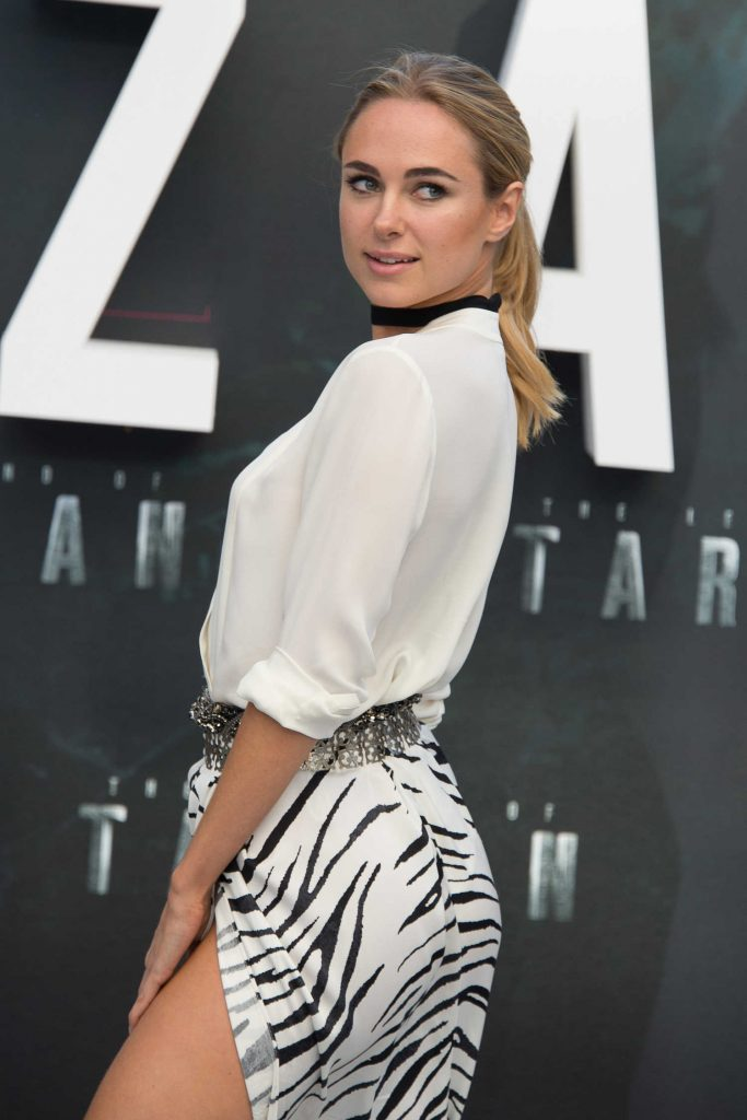 Kimberley Garner at The Legend Of Tarzan European Premiere in London-6