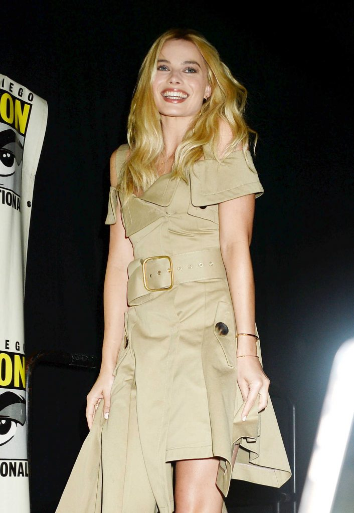 Margot Robbie at Warner Bros Presentation at Comic-Con International in San Diego-1