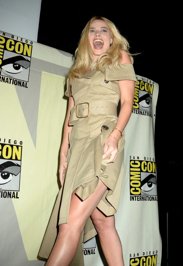 Margot Robbie at Warner Bros Presentation at Comic-Con International in San Diego-2