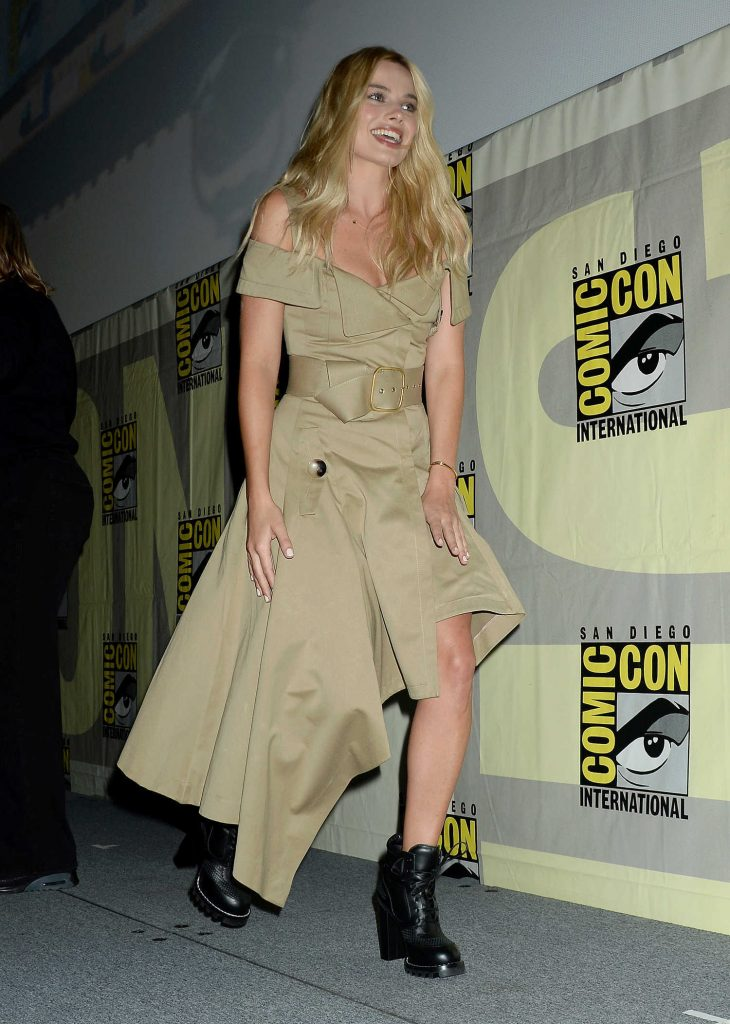 Margot Robbie at Warner Bros Presentation at Comic-Con International in San Diego-3