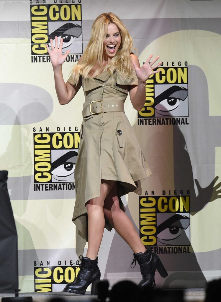 Margot Robbie at Warner Bros Presentation at Comic-Con International in San Diego-4