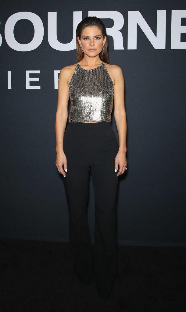 Maria Menounos at the Jason Bourne Premiere in Las Vegas-1