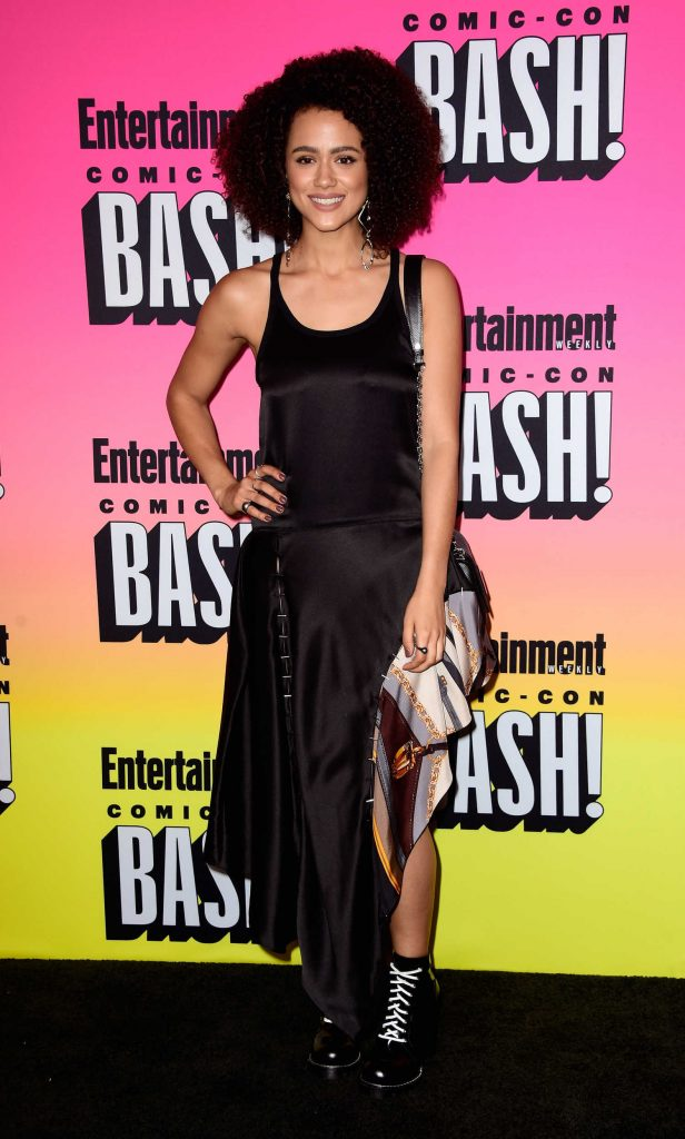 Nathalie Emmanuel at Entertainment Weekly Annual Comic-Con Party at Hard Rock Hotel in San Diego-1