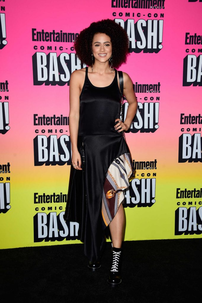 Nathalie Emmanuel at Entertainment Weekly Annual Comic-Con Party at Hard Rock Hotel in San Diego-2