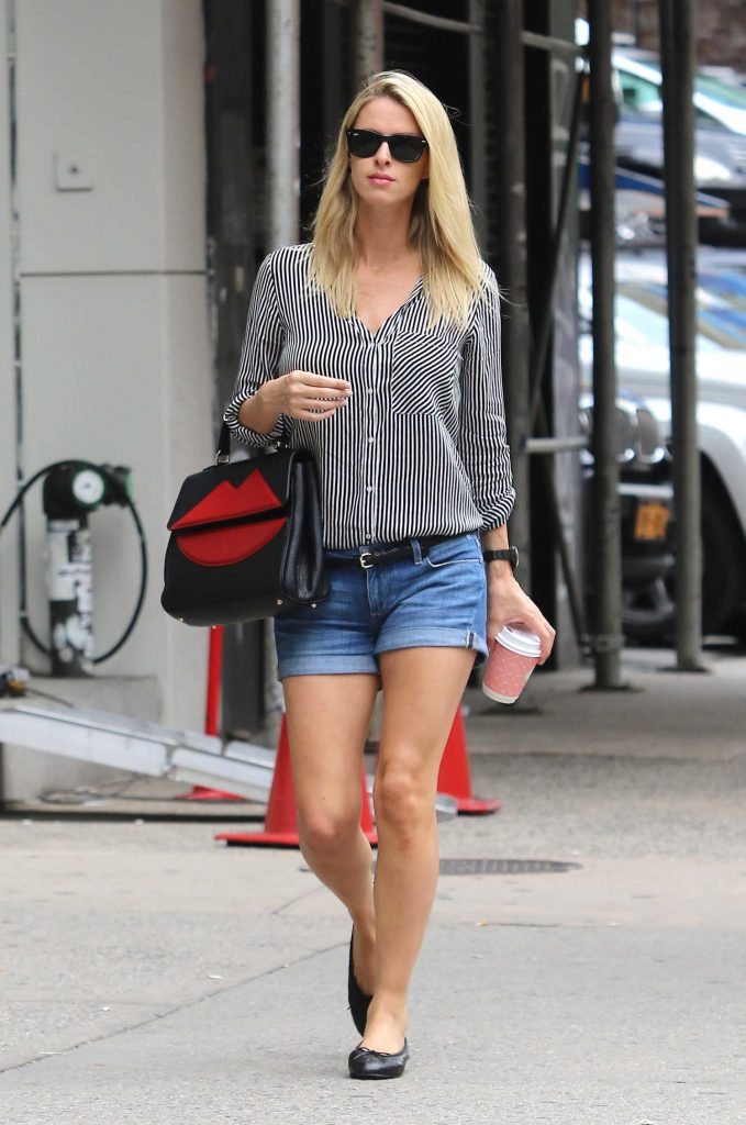 Nicky Hilton Was Seen Out in New York-1
