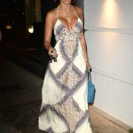 Nicole Murphy Has Dinner at Madeos in Los Angeles