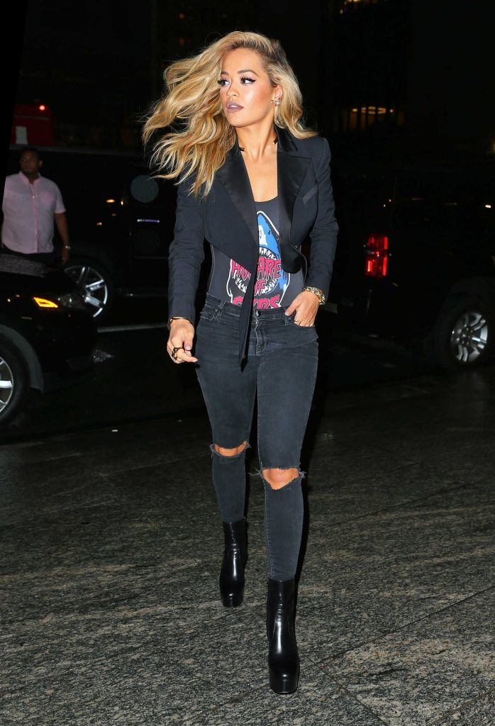 Rita Ora Goes to Dinner in New York-3