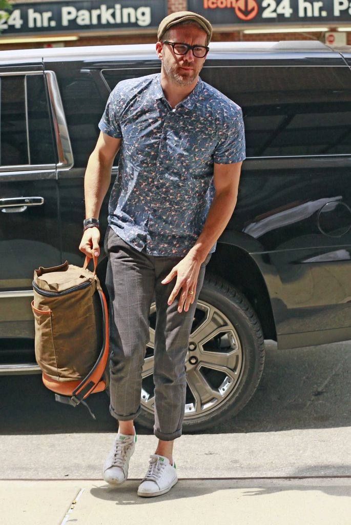 Ryan Reynolds Arrives to the Greenwich Hotel in New York City-1