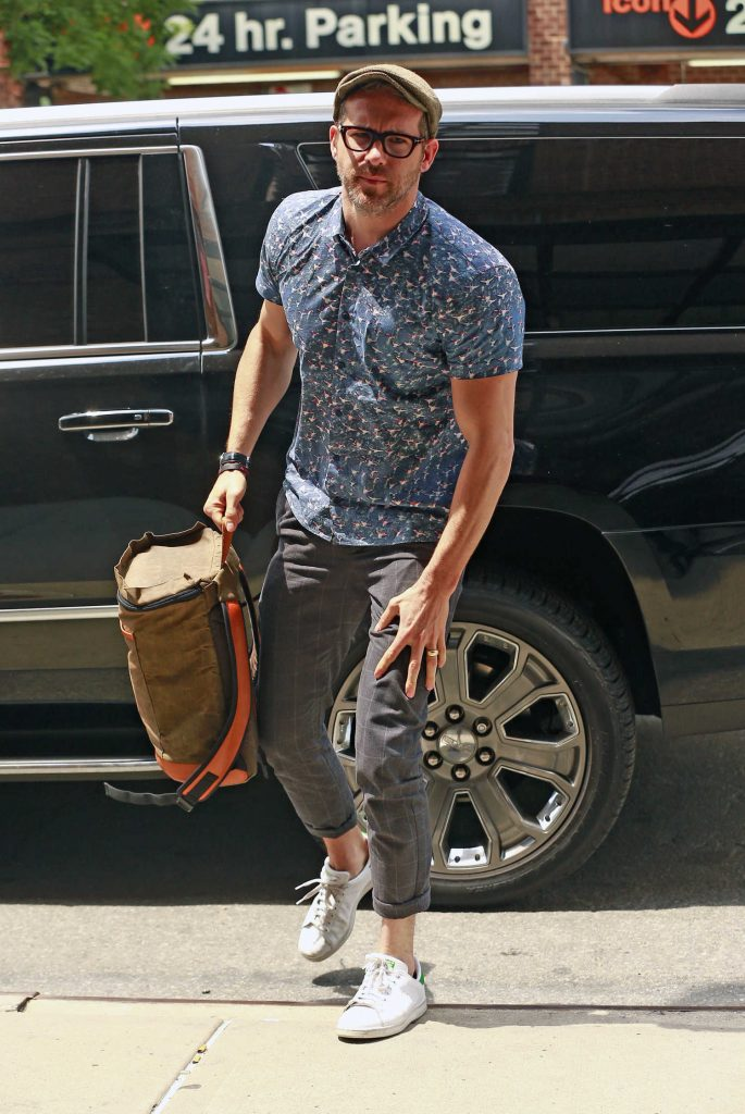 Ryan Reynolds Arrives to the Greenwich Hotel in New York City-2