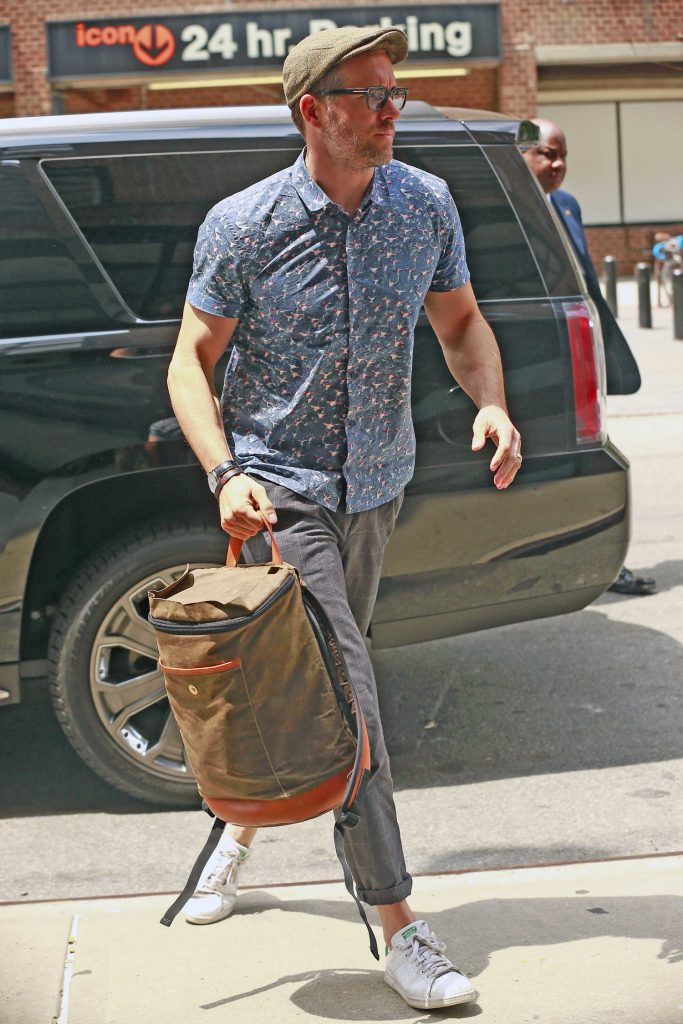 Ryan Reynolds Arrives to the Greenwich Hotel in New York City-3