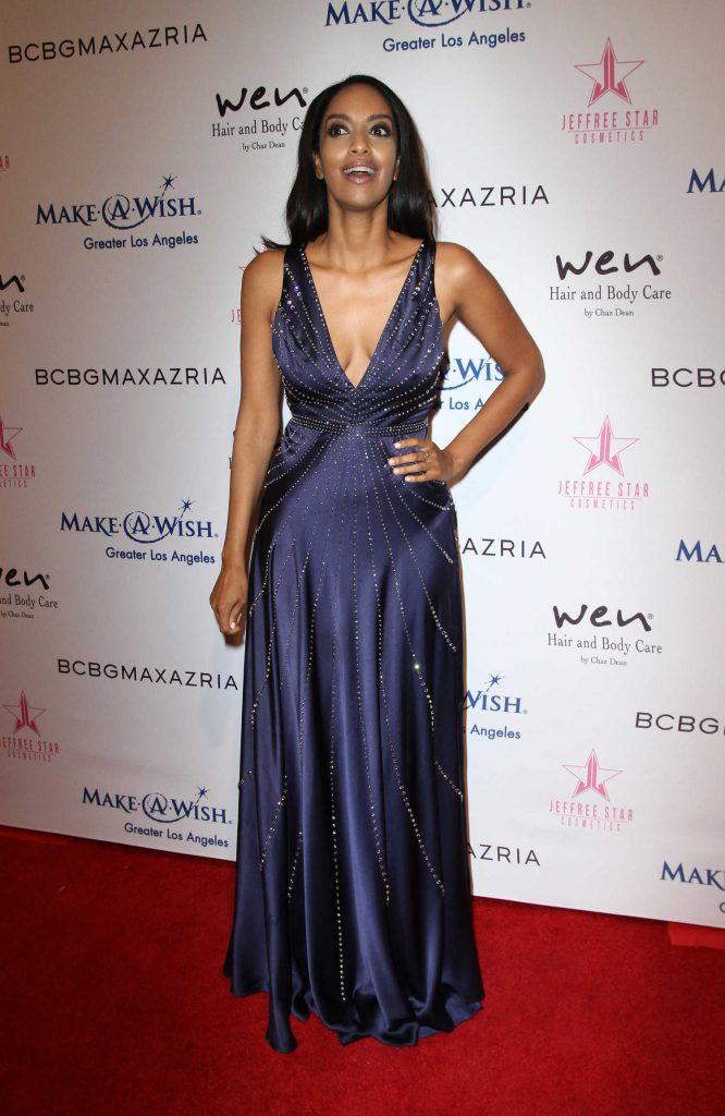Azie Tesfai at BCBG Make-A-Wish Fashion Show in Los Angeles – Celeb ...