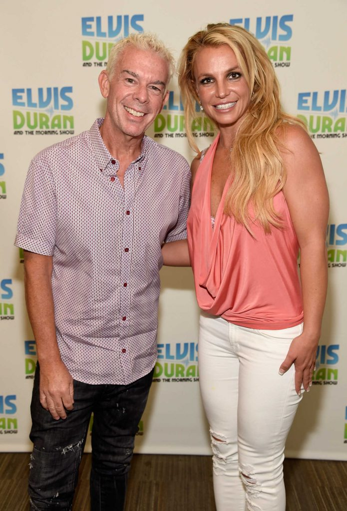 Britney Spears Visits The Elvis Duran Z100 Morning Show in New York City-1