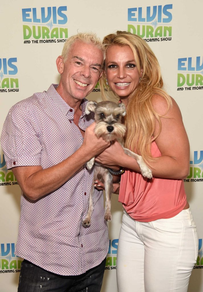 Britney Spears Visits The Elvis Duran Z100 Morning Show in New York City-2